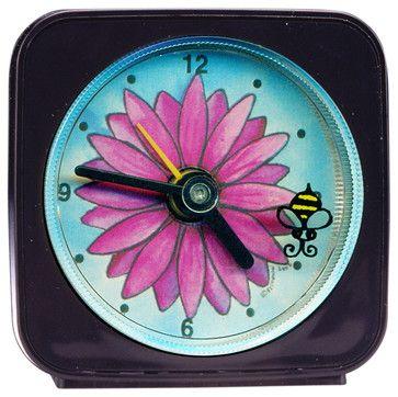 Flower/Bee Alarm Clock - eclectic - Kids Clocks - Other Metro - Paper Scissors Rock