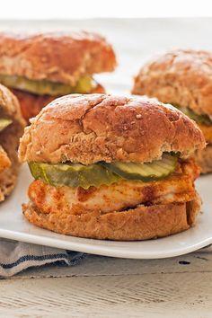 Weight Watchers Copycat Chick-fil-A Chicken Sandwich Recipe