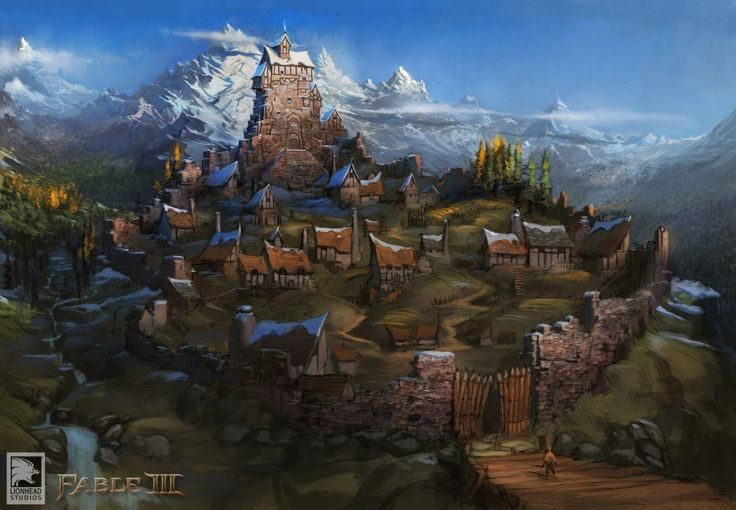 Fable3_Brightwall. Brightwall is a village in Fable III ...