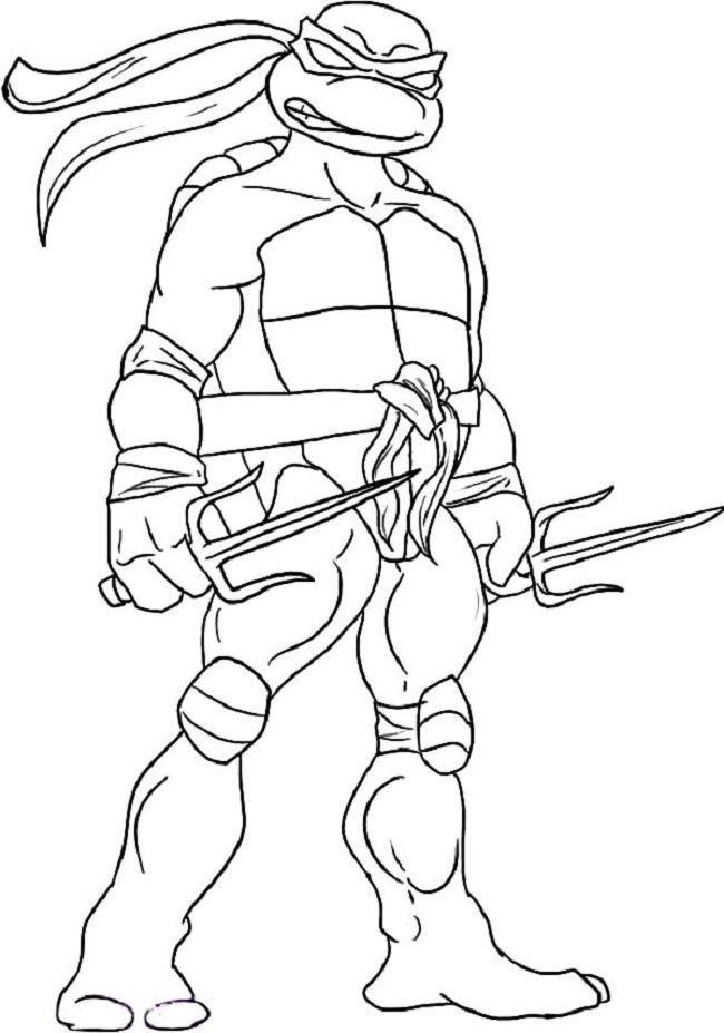 teenage mutant ninja turtles coloring pages  ausmalbilder