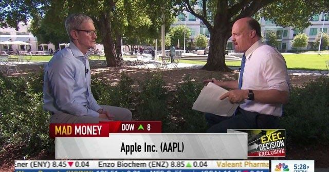 """http://ift.tt/2quFcpv Undertaking $1B fund to promote advanced manufacturing jobs in U.S. http://ift.tt/2pAmrA2  Apple CEOTim Cook has announced that company is undertaking a $1 billion fund to promote advanced manufacturing jobs in the United States. In an Interview with CNBCs Mad Money Tim Cook said """"We're announcing it today. So you're the first person I'm telling"""" Apple CEO Tim Cook told """"Mad Money"""" host Jim Cramer on Wednesday. """"Well not the first person because we've talked to a…"""