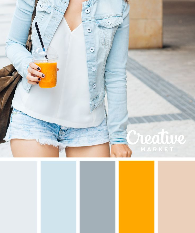 15 Paletas de colores frescos de primavera ~ Blog creativa de mercado