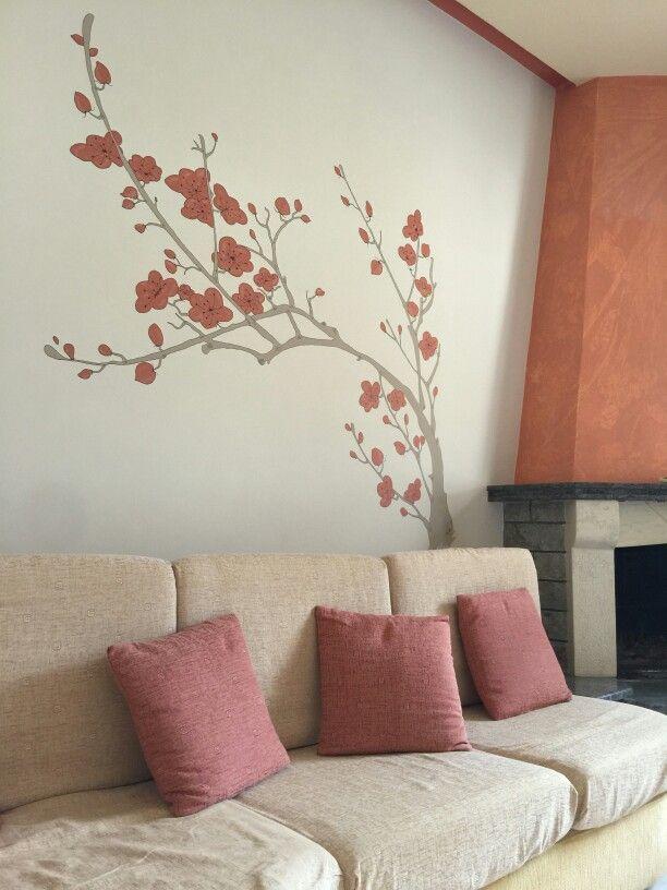 Plum blossoms-mural v2