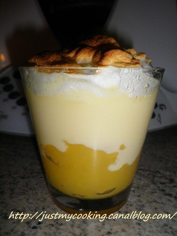 Mousse de pommes meringuée (Thermomix)