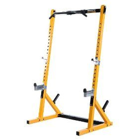 Powertec Half Rack Workbench, (power rack, power cage, home gym, squat rack, cage, powerline, chin up bar, health, exercise bench, fitness)