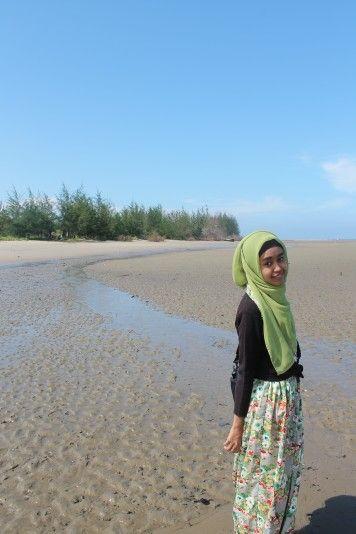 Pantai muara badak
