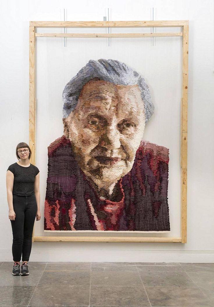 Amos Anderson esittelee nuoria taiteilijalupauksia, jotka eivät jää ammattitaiteilijoiden varjoon – mukana isoäidin kudottu muotokuva - Kulttuuri - HS.fi