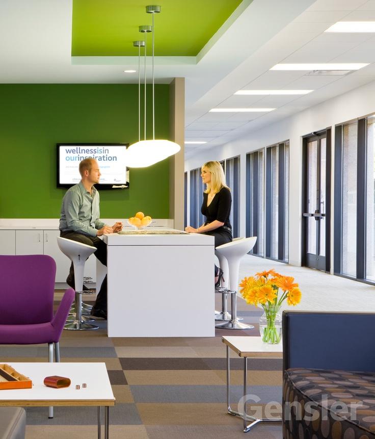 Gensler California. Office InteriorsCorporate InteriorsOffice DesignsOffice  ...
