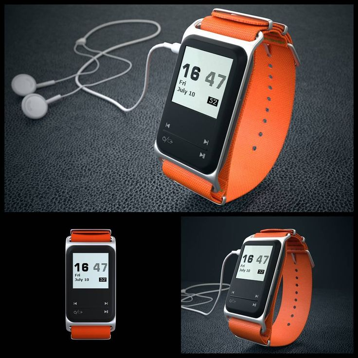 theSportGPS GPS sport watch MP3 music player with the NATO ballistic Nylon orange watch band and the silver aluminium case thesportgps.com facebook.com/thesportgps #idea #cool #sport #watch #music #MP3 #fashion