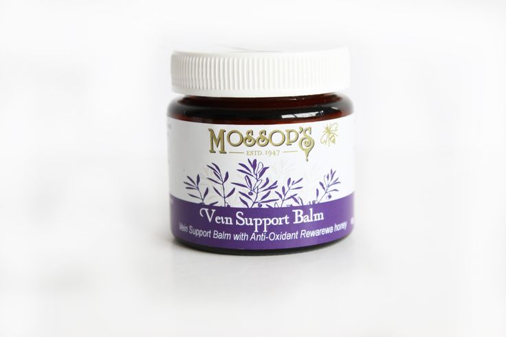 Mossops De-Vein is and excellent balm for nourishing damaged and fragile tissues. Soothes and supports haemorrhoids and varicose veins, rosacea and varicose dermatitis. Helps reduce inflamation, relieving itchiness.