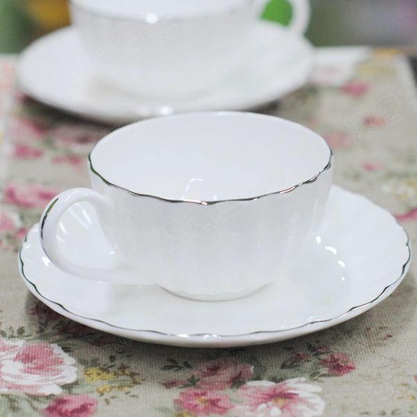 Кофейные кружки | 180 Haosheng чашка | Английский Красная чашка | Платиновые фантазии кофейные кружки Аутентичные кости Hai Gelei фарфора