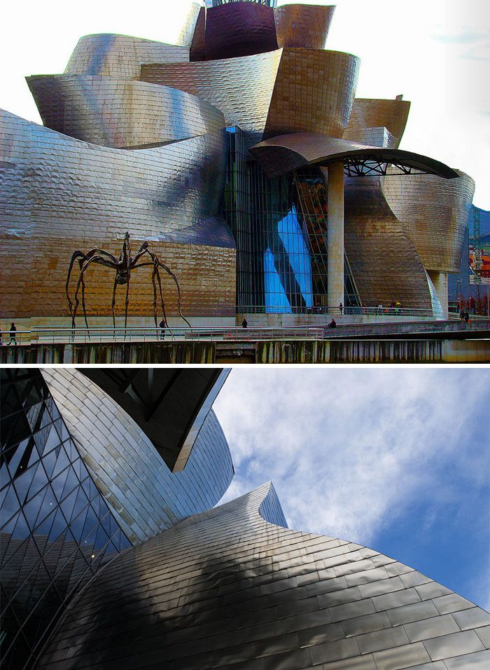 13+ Of The Most Evil-Looking Buildings That Could Easily Be Supervillain  Headquarters. Basque CountryGuggenheim Museum BilbaoInterior ...