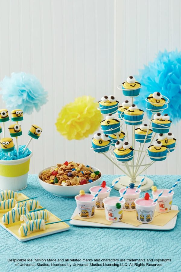 All the Minions you can handle for your kiddo's Despicable Me birthday party!
