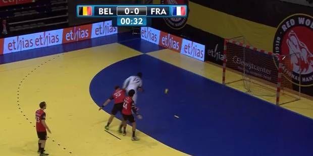 Luc Abalo fait étalage de sa classe face à la Belgique (VIDEO)