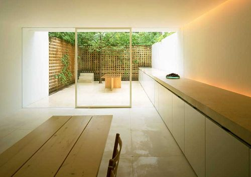 John Pawson's apartment in London, 1999. Follow: STUA Timeless Design