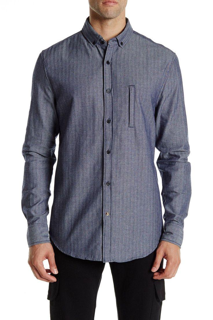 Quantum Herringbone Shirt