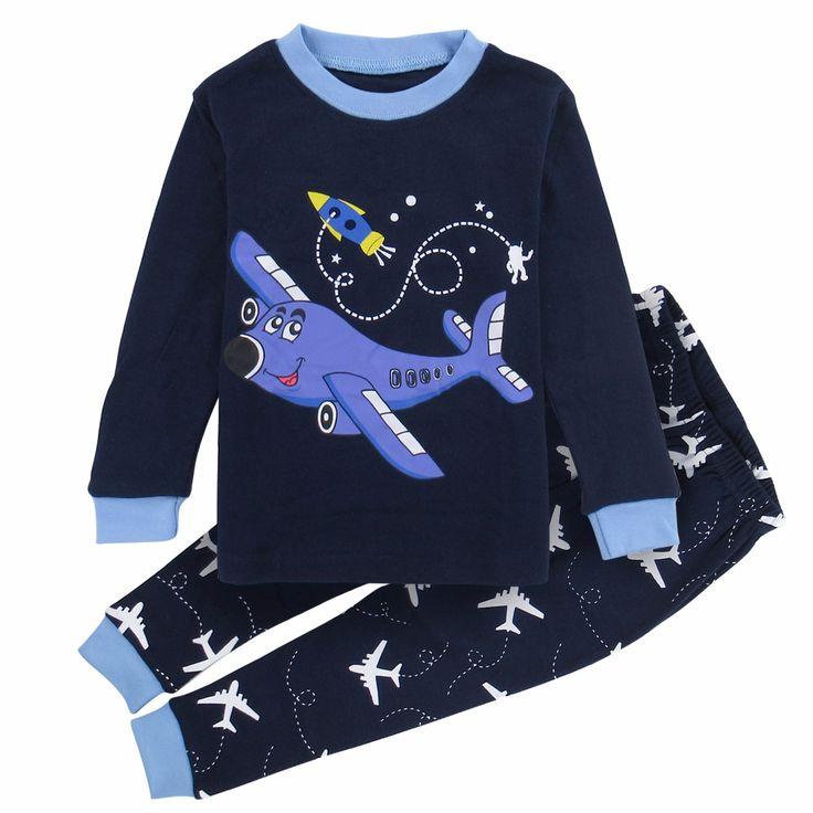 Kids Boys Sleepwear Shark Dinosaur Pajamas Child Animal Cartoon Pijamas Children New Year Homwear Pajamas for Boy Pyjamas Kids