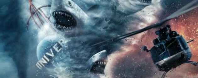 Découvrez l'affiche pleine de requin de Sharknado 3 #OhHellNo