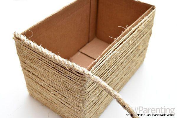 Organizador de la caja - decorado con cuerdas (7) (600x400, 115KB)