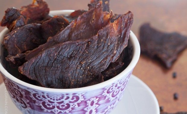 Great site for grain/sugar/and dairy free recipes. Paleo beef jerky recipe - from Against All Grain