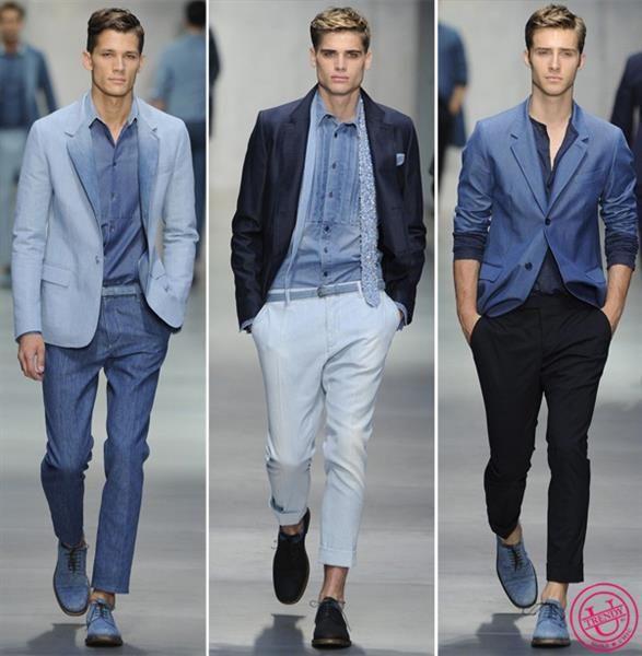 Мужские летние джинсовые пиджаки
