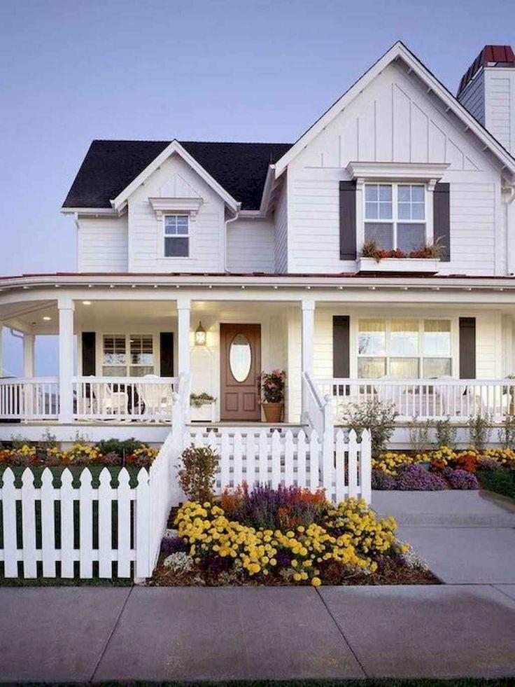75 rustic farmhouse exterior design ideas modern