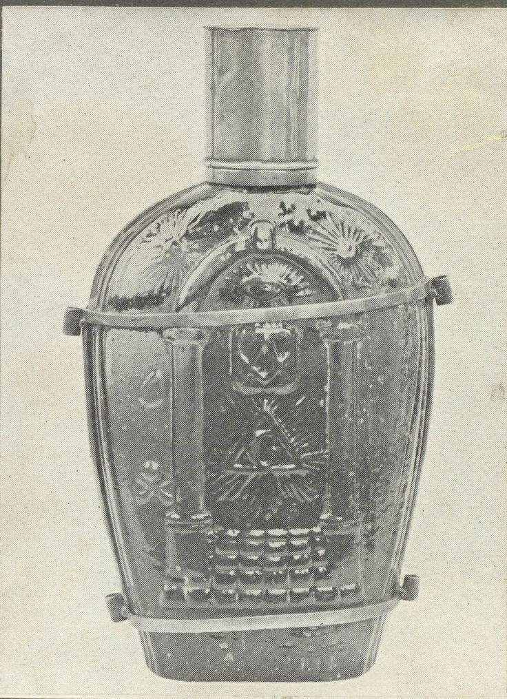 Waterbottle that belonged to Voortrekker leader Piet Retief.