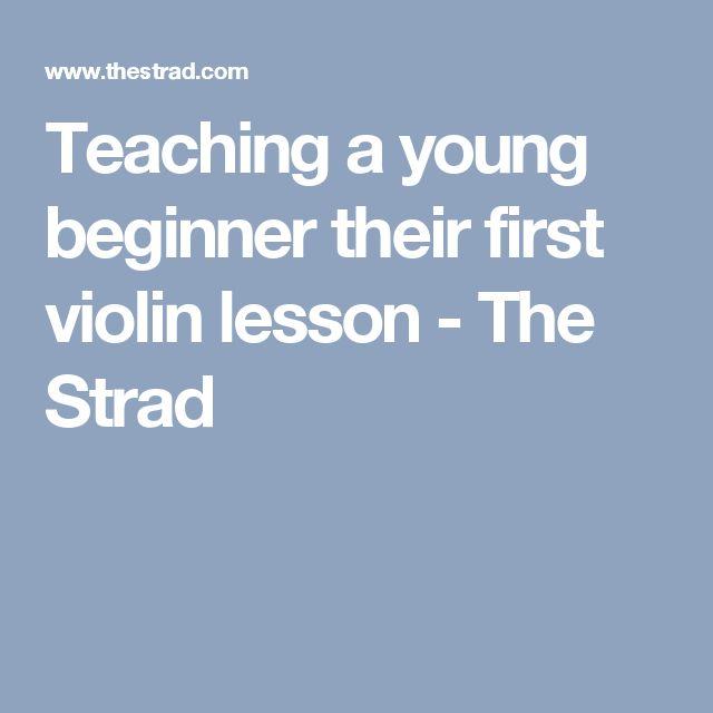 how to teach beginner violin