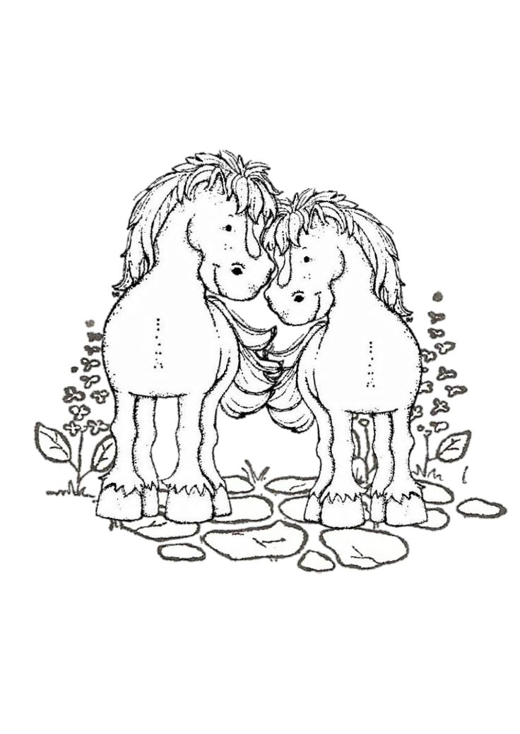 magnolia stamps coloring pages - photo#40