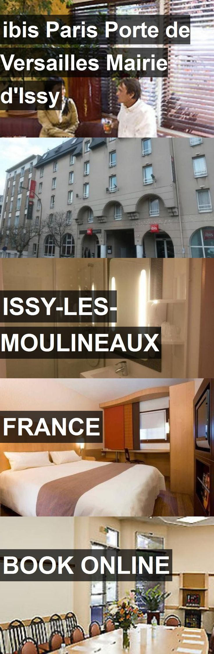 Hotel ibis Paris Porte de Versailles Mairie d'Issy in Issy-les-Moulineaux, France. For more information, photos, reviews and best prices please follow the link. #France #Issy-les-Moulineaux #ibisParisPortedeVersaillesMairied'Issy #hotel #travel #vacation