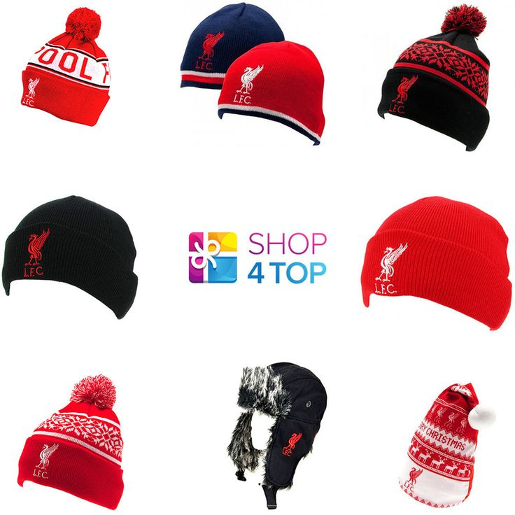 LIVERPOOL FC FOOTBALL SOCCER CLUB TEAM FANS KNITTED HAT WINTER OFFICIAL WARM NEW