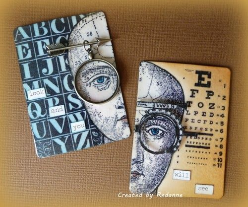 PaperArtsy: 2017 Topic 1: ATCs {New Topic and Challenge}