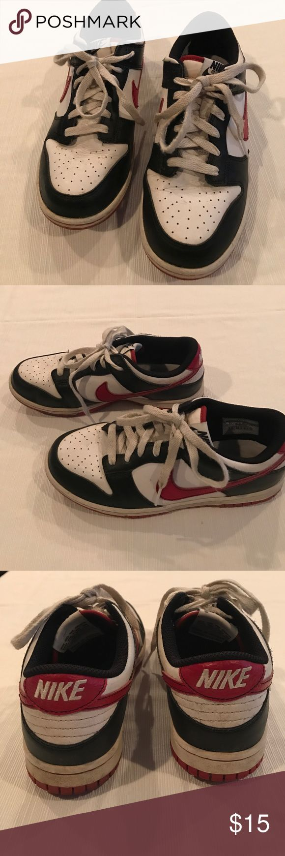 Nike Boys Golf Shoes Red, black and white boys golf shoes Nike Shoes