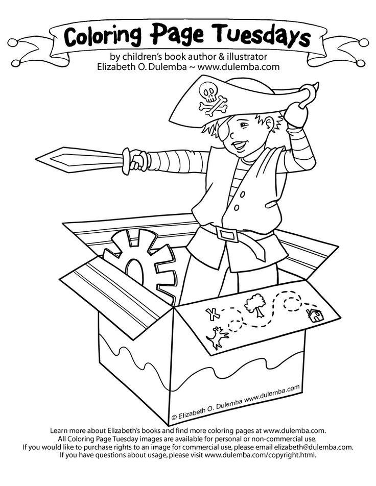 Dulemba Blogstuff ColoringPageTuesdays Pirate2012 Big Kids HandsEmail CampaignPirate PartyColoring SheetsDigi