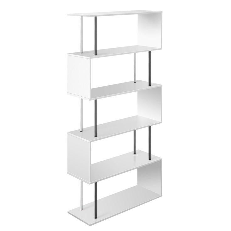 Display White Book Storage Shelf. Buy online now. Free Delivery!!!