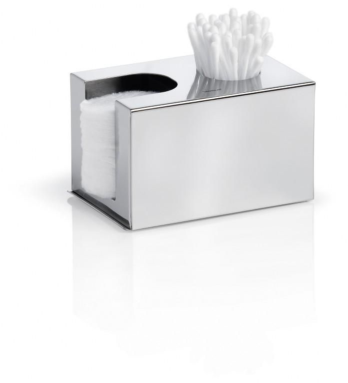 Pojemnik na płatki i pałeczki kosmetyczne NEXIO, matowy - Blomus - DECO Salon #container #bathroom #bathroomaccessories