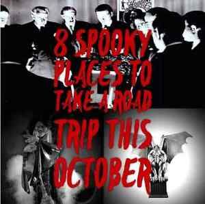 Each October, when Halloween approaches, even the most skittish of American's become curious to dig into the haunted locations of this vast and historically rich country. Visit each location individually,...