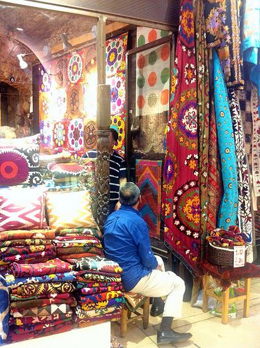 Grand Bazaar, Istanbul | Carina Novarese via Flickr