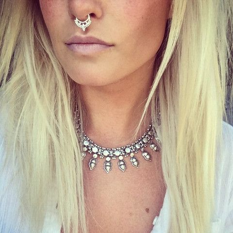 >>Queen Cleopatra Nose Ring<< http://www.childofwild.com/collections/shop/products/shaman-nose-ring #childofwild #faux