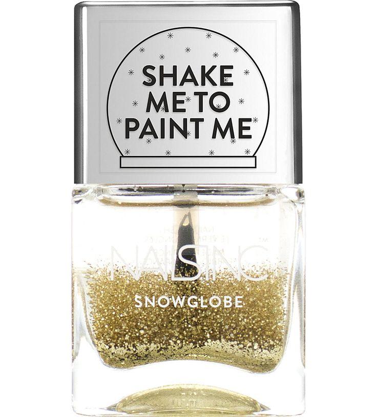 Snowglobe nail polish http://bit.ly/1O3SIGK