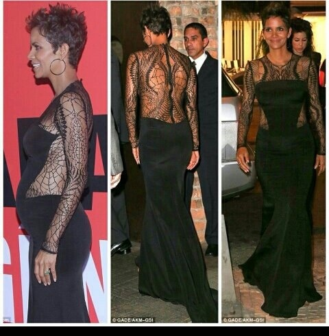 Halle Berry pregnant at 46!!