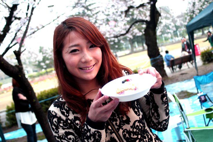 Cherry blossom viewing/桜 花見