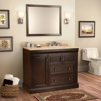 Single Vanities Costco And Vanities On Pinterest