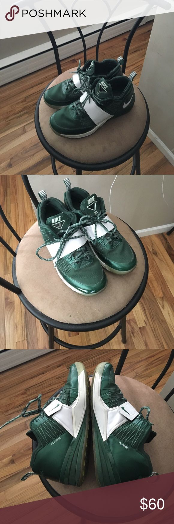 Nike Zoom Revis Nike Zoom Revis Green. Size 9.5 NY Jets Revis Island Nike Shoes Sneakers