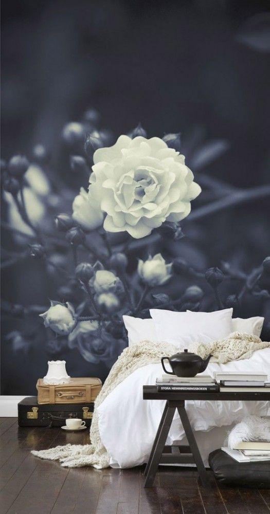 Sweet dreams met dit prachtige bloemenbehang. In mijn blog laat ik je graag nog meer mooie opties zien. #sheboezz