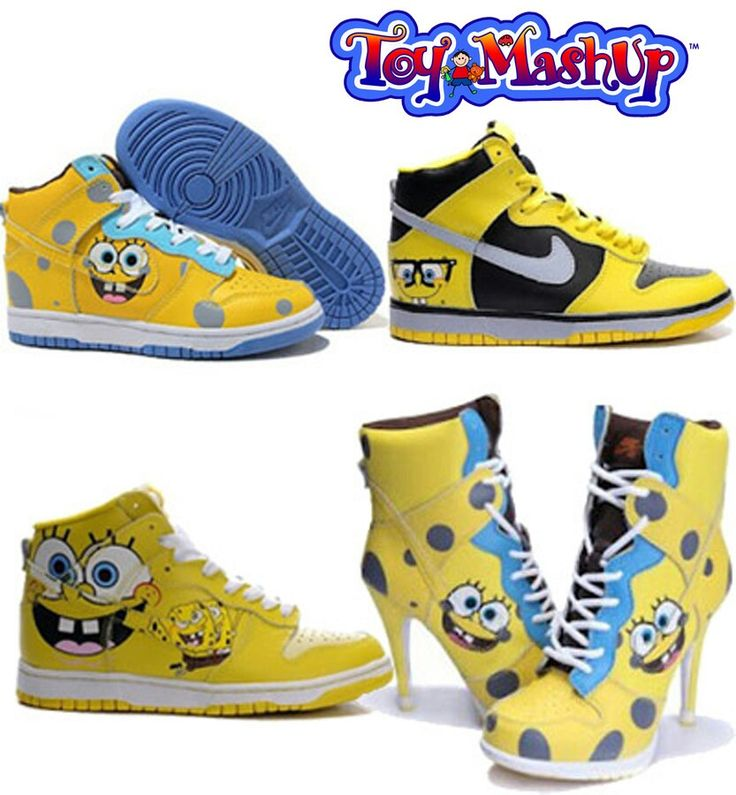 #SpongeBob #SquarePants #Tv #Cartoon #Character #Shoes.