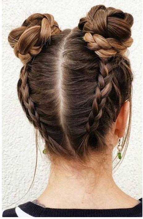 20 stylish bun hairstyles 2019