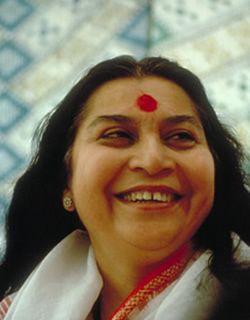 The End of my search...  Shri Mataji Nirmala Devi, founder Sahaja Yoga Meditation.