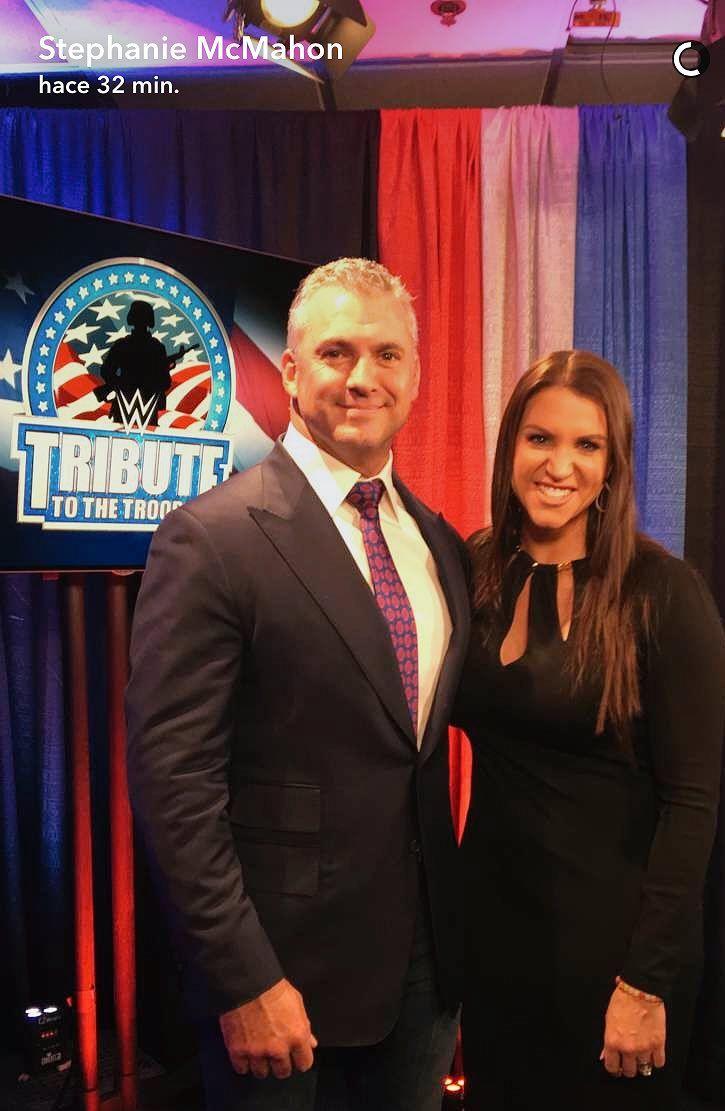 Shane McMahon & Stephanie McMahon 2016