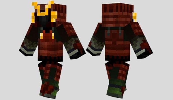 Скачать Скин Самурая Для Minecraft - фото 5